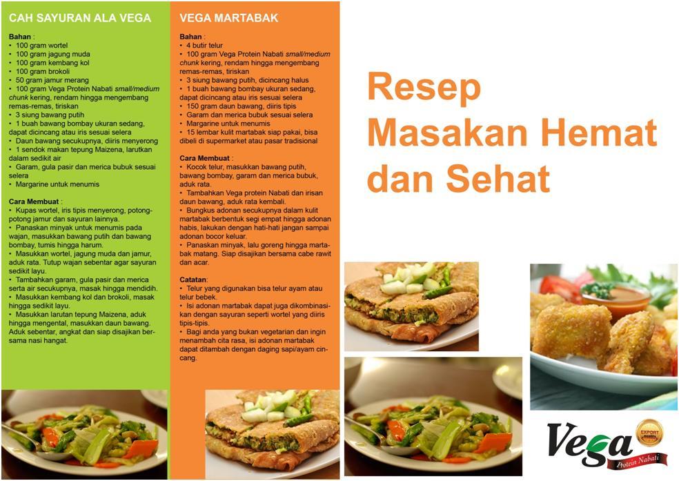 Vega Protein Nabati Berbagai Resep Makanan Dengan Vega Protein Nabati